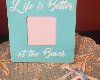 Life is Better at the Beach frame, Summer Frame, Summer Fun, Beach frame, Life is Better at the Beach