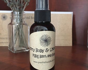 Anxiety, Relief, Tension, Stress Relief, Body Spray, Linen Spray, Room Spray, Calming, Calm Nerves
