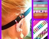Rockin Aid Retainers:  Athletic Hearing Aid and Cochlear Implant Wraps! Select color, size and please message me or one aid sleeve or two!