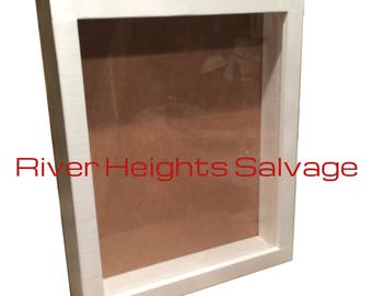 Large White Shadow Box 18x22, Window box Display box Picture Frame Deep shadow box  Best Selling Display Case Popular Trending Gift Wedding