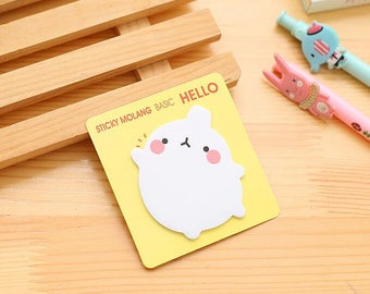 molang sticky note / post it note / memo pad