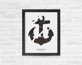 Quispamsis Anchor Print