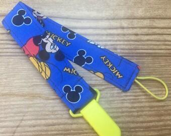 Binky Baby Clip Mickey Mouse Baby Boy Dummy Clip Soother Clip Baby Boy Binky Disney Baby Newborn Boy Soother Pacifier Baby Holder Binky Clip