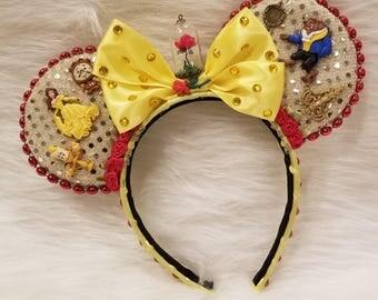 Beauty & the Beast Minnie Ears