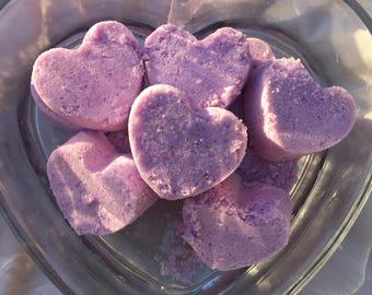 Heart Bath Bombs Set of 5