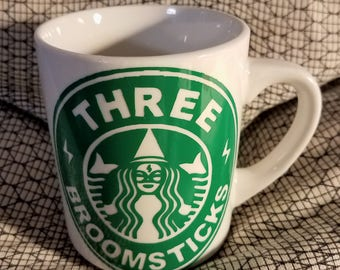 Coffee Cup with Harry Potter Three Broomsticks