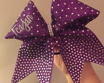 Purple princess team bows