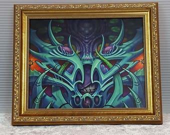 Framed Biomech Print