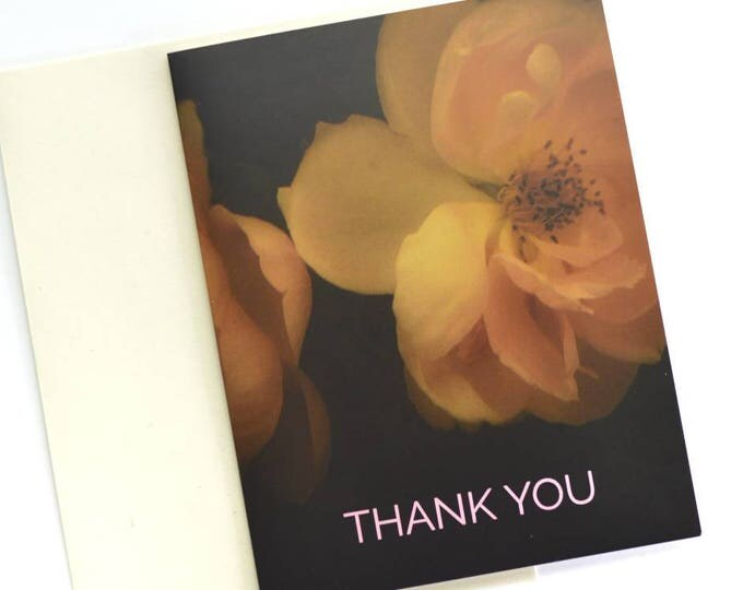 Thank You Card, Floral Card Set