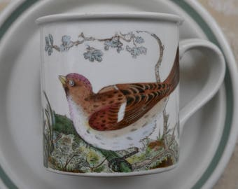 Portmeirion Vintage, Cup And Saucer, Birds Of Britain, Susan Williams Ellis, Coffee Can, Portmeirion Pottery, Espresso Mug, Portmeirion Bird