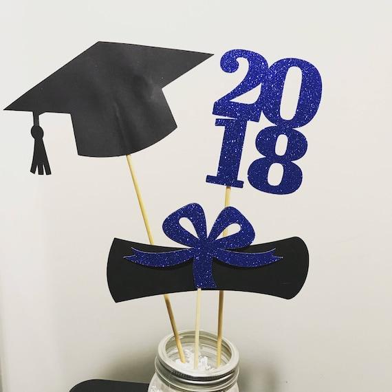 graduation party decorations 2018 centerpiece sticks 2018. Black Bedroom Furniture Sets. Home Design Ideas