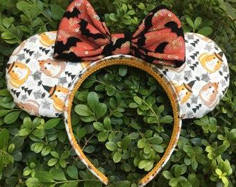 Guinea Pig Halloween Mouse Ears