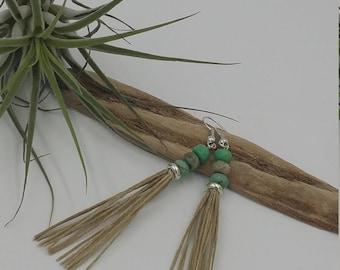 Pearl opal earrings