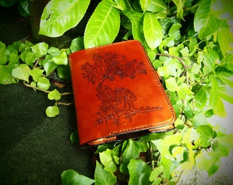 celtic kindle case, book of kelts cover, leather kindle cover