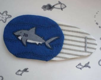 "Shark Eye Patch for ""lazy"" eye (amblyopia)"