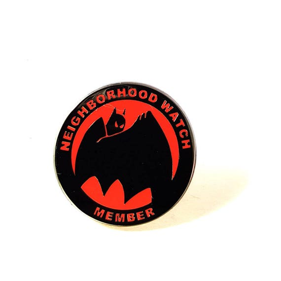 Neighborhood Watch Member lapel  pin