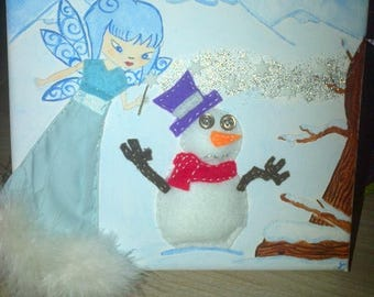 Little Winter fairy table