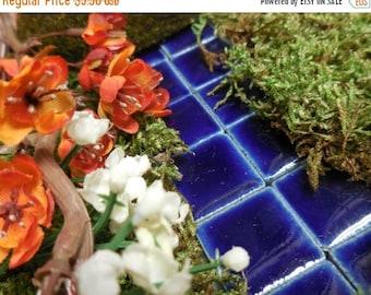 20% Off Storewide Miniature Stepping Stone, Mosaic Tiles, Fairy Garden Stepping Stones for Fairy Gardens, Dollhouse, Miniature Gardens, Fair