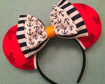 Cruise themed Mickey Ears