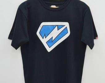 WTAPS Shirt Vintage 90's WTAPS Logo Print Tee T Shirt Size S