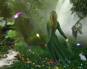 Magic fairy lights photoshop overlay - 20 firefly overlay