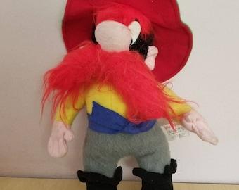vintage yosemite sam mighty star plush 1971 warner bros looney tunes toy - Yosemite Sam Halloween Costume