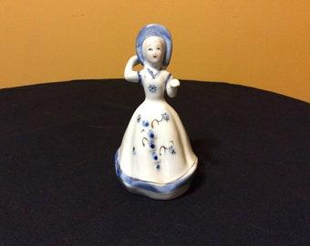 """Southern Belle Girl Porcelain Figurine 5 1/2"""""""