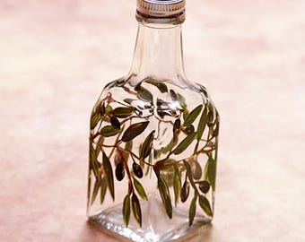 Cruet oil or vinegar bottle
