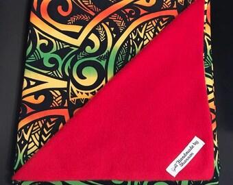 Reggae Baby Blanket, Rasta, Roots, zion
