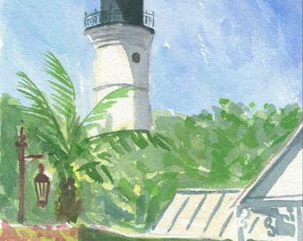 Lighthouse - Key West, FL  8x10 print