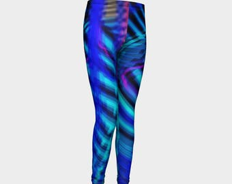 Electric Current Youth Leggings