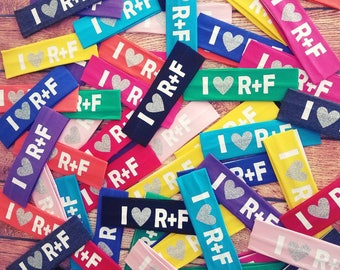 R+F Headbands-Headband Assortment-Stretchy RF Headbands-Rodan Fields-R+F Swag-Preferred Customer Gifts, PC perks, PC gifts
