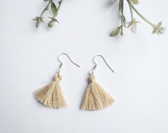 New statement fringe tassel earrings | boho tassel dangle drop earrings