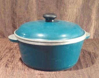 Vintage Club cast aluminum Dutch oven, free shipping