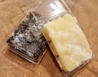 Moisturizing Sugar Cube Scrub, Exfoliating Body Scrub