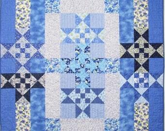 Star Quilt Pattern - Scrap Quilt Pattern - Star Quilt - PDF Quilt Pattern - Patchwork Quilt - Quilt Pattern PDF - Quilt Patterns