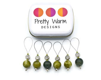 Snag Free Knitting Stitch Markers - Beaded Stitch Markers - Stitch Markers - Stitchmarkers - Stitch Marker - Knitting Markers - Gift for Mom