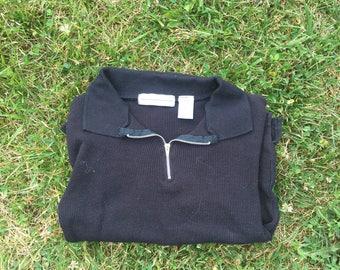 short sleeve quarter zip