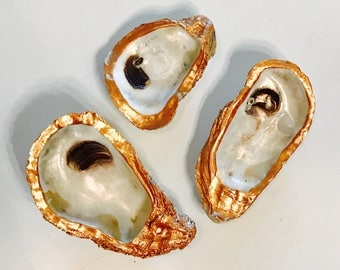 Copper Oyster Shell Magnet