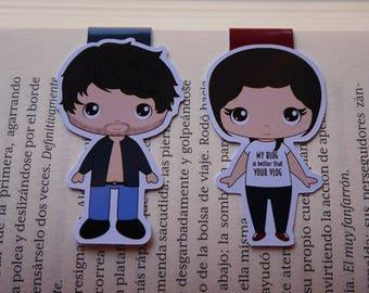 Magnetic bookmarks - Lux, Jennifer L. Armentrout, fanart