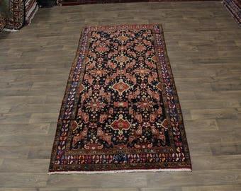 Excellent Signed Tribal Hamedan Runner Persian Oriental Area Rug Sale Sale 5X10