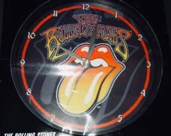 Rolling Stones Clock