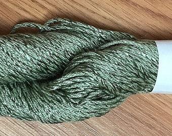 Berocco Cotton Twist Yarn - Mercerized Cotton & Viscose - #8375 Green - Worsted Weight