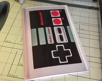 INSTANT DOWNLOAD  Nintendo DIY Notebook Printable Download