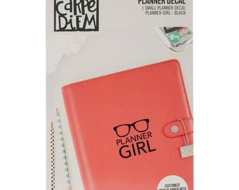 Carpe Diem Planner Girl Decal