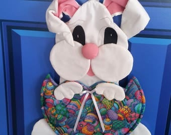 A Bunny is perfect for your front door for Easter.