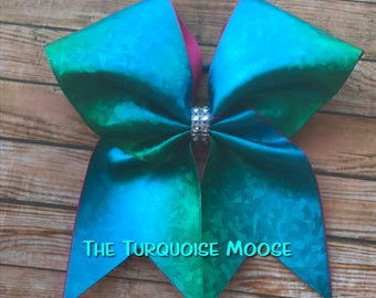 Ombre Cheer Bow, Ombre, Cheerleading Bow, Ombre Hair Bow