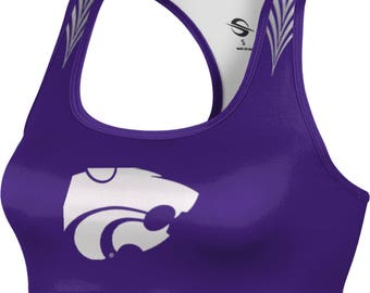 ProSphere Women's Kansas State University Deco Sports Bra (KSU)