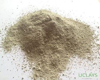 Bentonite clay powder natural for mask, facial detox and cosmetic
