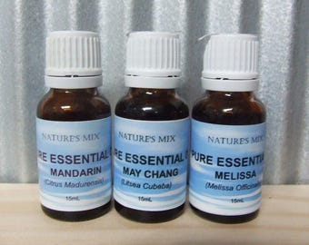 Pure Ginger Essential Oil **15mL**